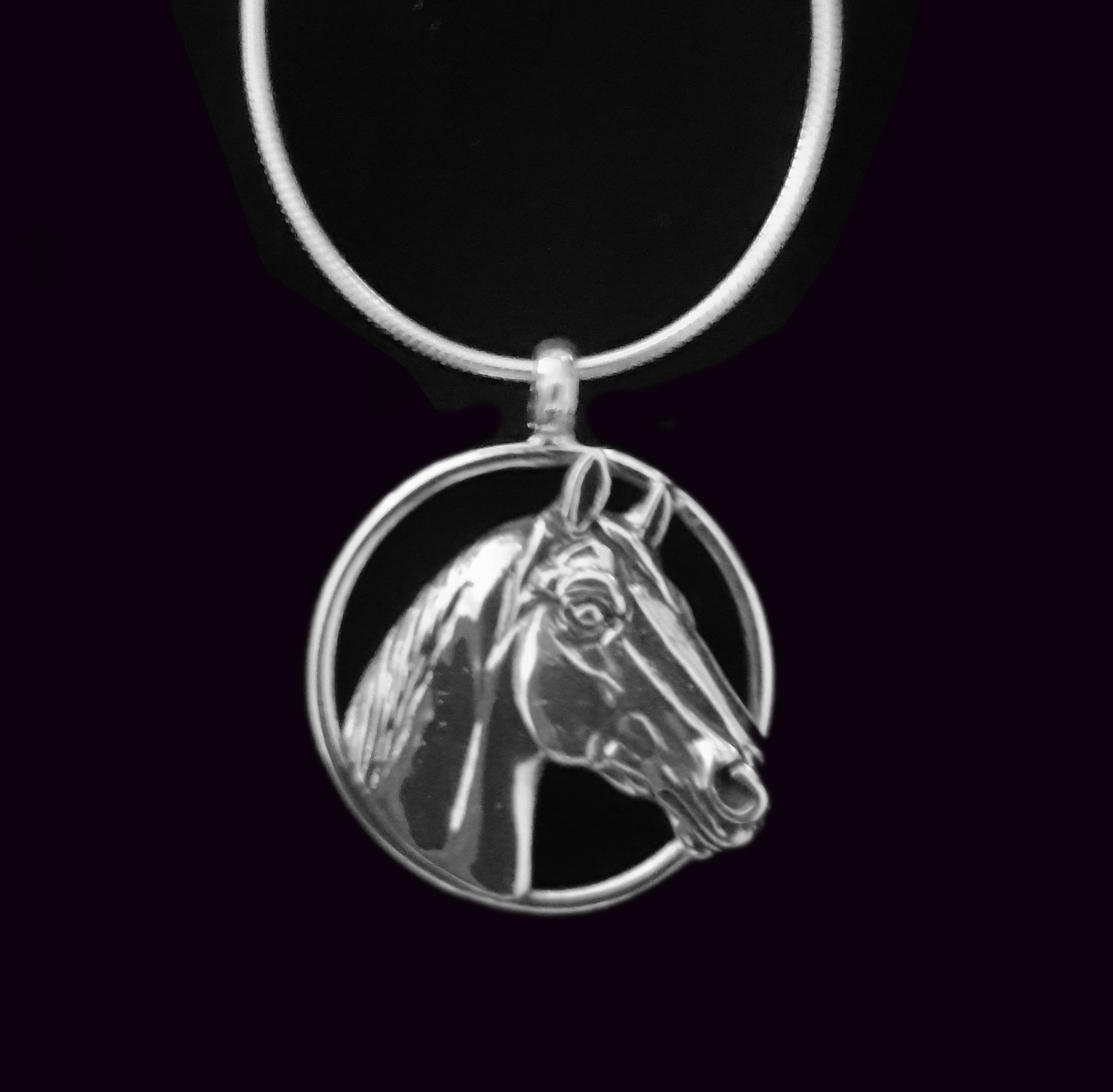 horse j gemma sterling in necklace from the silver jumper product show jumping p productjumping gallop pendant