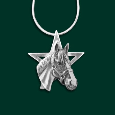 Justify Racehorse Jewelry