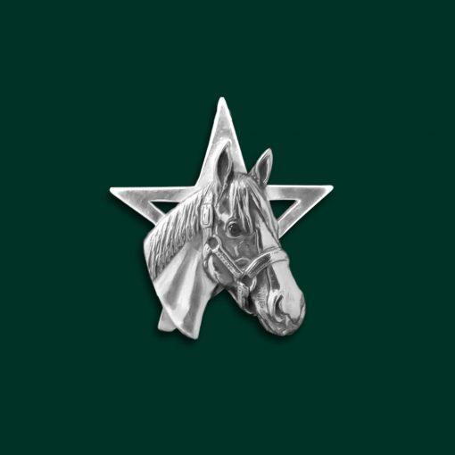 Justify horse pin
