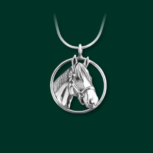 Justify horse necklaces for sale