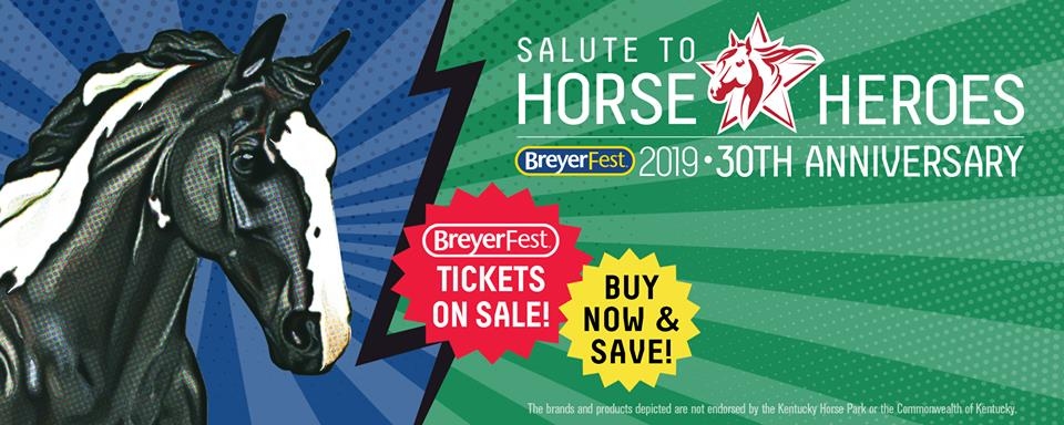 Breyerfest July 12 – 14, 2019