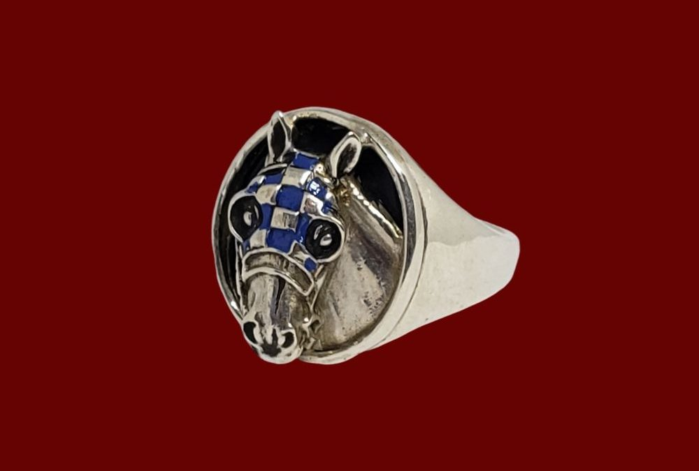 Secretariat Signet Ring from Jane Heart Jewelry